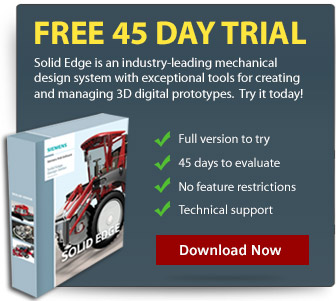 Try Solid Edge for FREE - 45 Day Trial